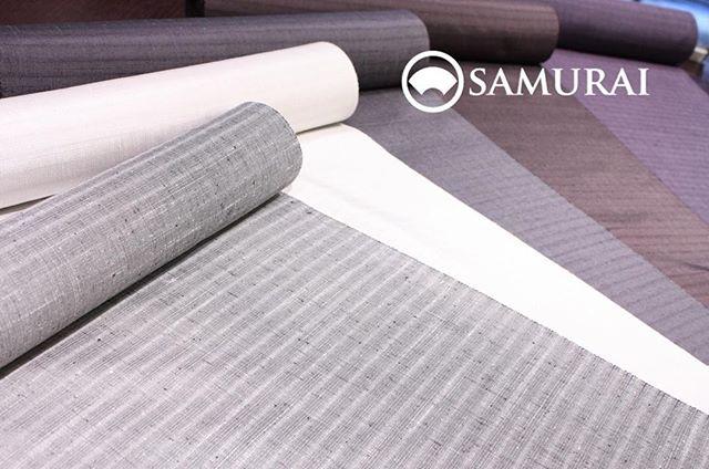 夏も終わり、単衣の季節となってまいりました。SAMURAIでは袷にオススメな色柄が増えてきております。